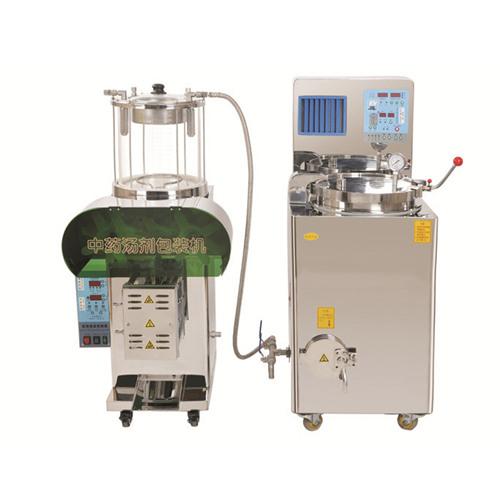 多功能自动煎药机1型+包装机